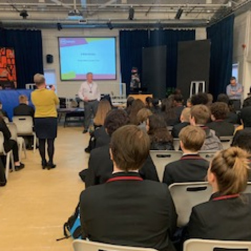 Careers panel for Y9