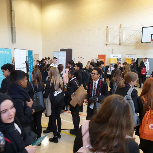 Interactions with employers at our FOYF fair